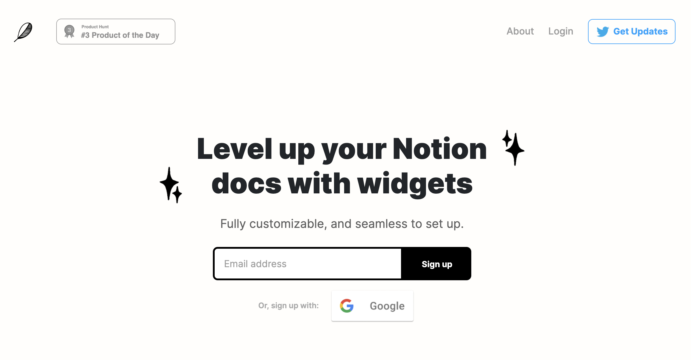 Indify - Notion Widgets